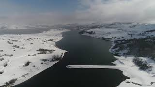 Imágenes del temporal de nieve en Horna de Ebro y Argüeso
