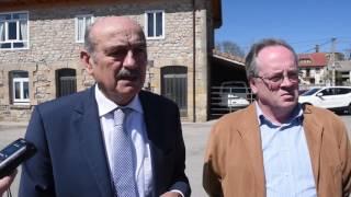 Inauguración de la rehabilitación del centro social de La Riva