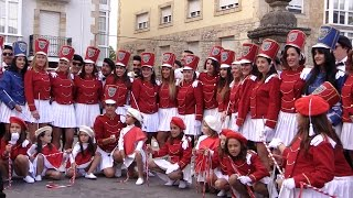 El desfile de las Majorettes de los Formidables