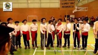 Los alumnos del Casimiro Sainz de Matamorosa cantan las marzas
