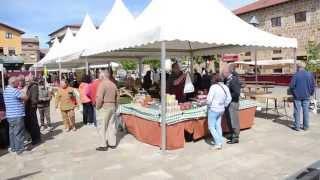 Mercado de San Isidro en Polientes