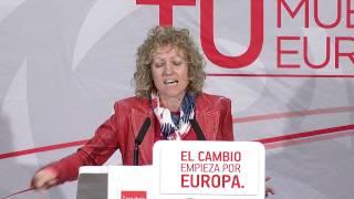 Mitin del PSOE en Reinosa