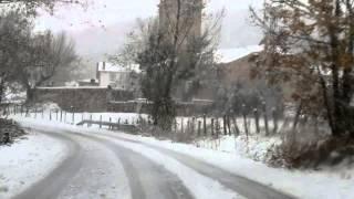 Nieve en Campoo (22-11-2013)