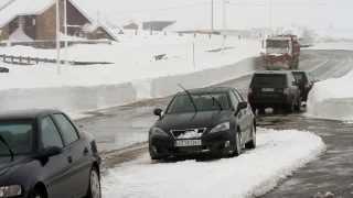 La nieve cubre Brañavieja y Alto Campoo