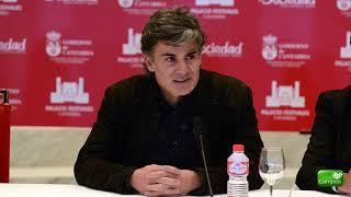 Presentación del concierto de Nando Agüeros el en el Palacio de Festivales de Cantabria