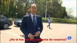 Ignacio Diego se ríe de los trabajadores de Sniace