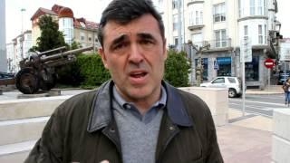 Ricardo Cortés, europarlamentario socialista, analiza en Reinosa el 25-M