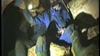 Seres extraños en una cueva