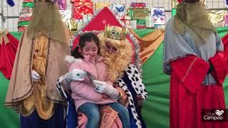 Sus Majestades de Oriente visitan el Colegio San José