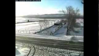 Timelapse de la nevada en Corconte (2013)