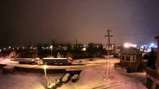 Tormenta en Reinosa (25-3-2014) Time-Lapse